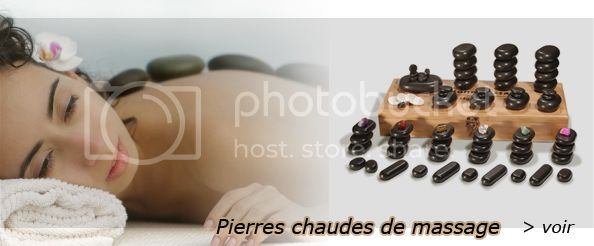 pierres chaudes de massage